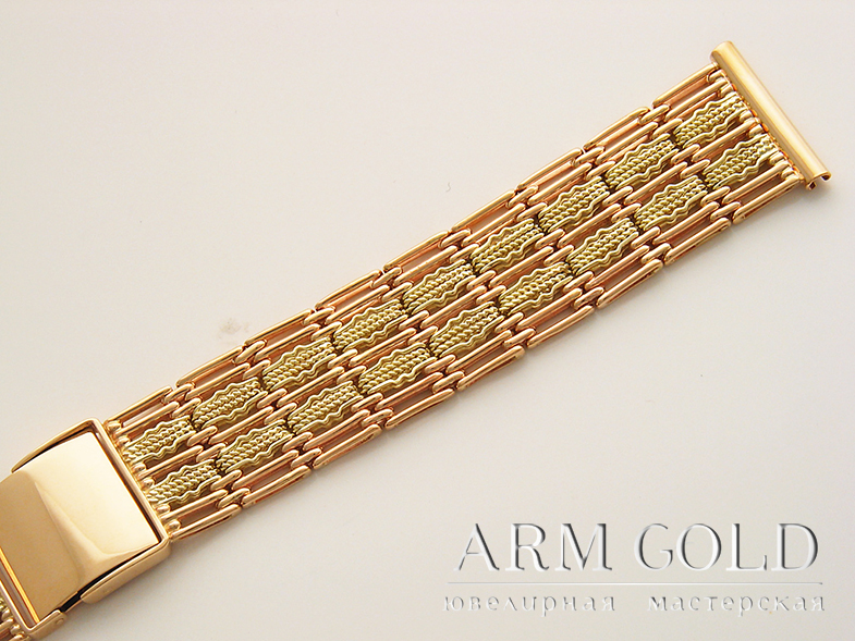Золотые часы и браслеты для часов 296e9ea6be5